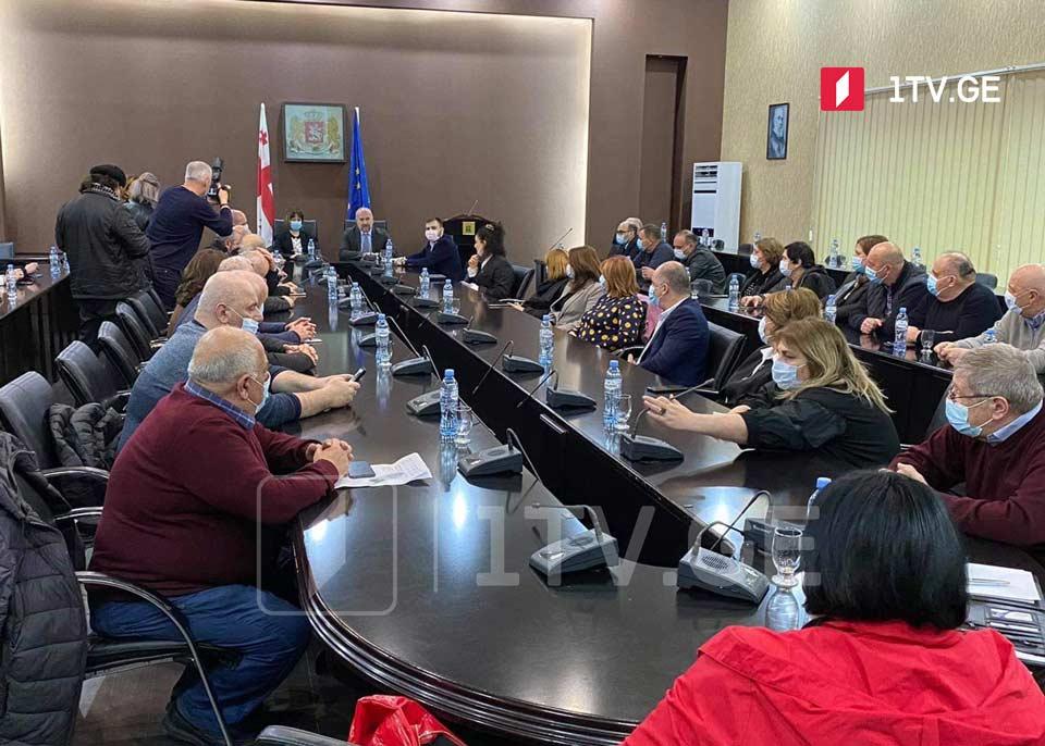 Georgian Health Minister meets regional medical staff