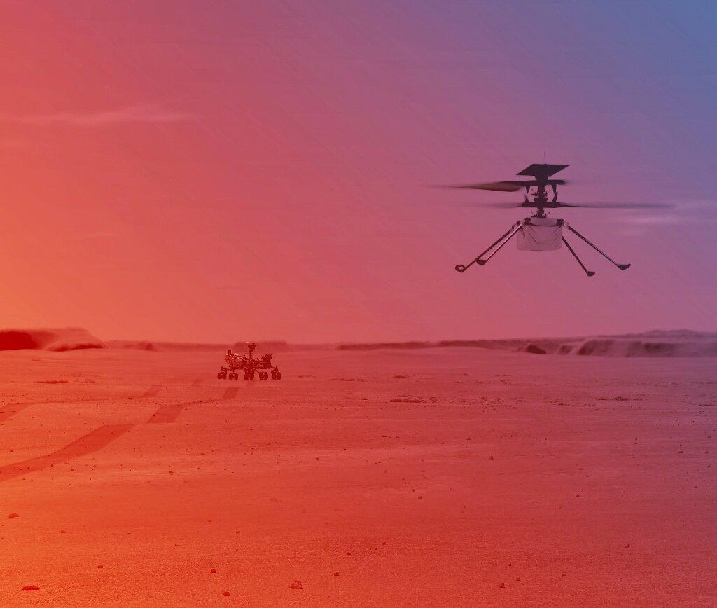 NASA-ს ვერტმფრენი მარსზე პირველ ფრენას აპრილის დასაწყისში შეეცდება — #1tvმეცნიერება