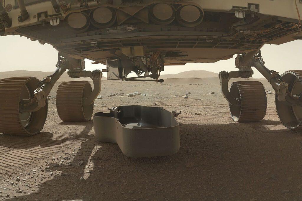 მარსის ვერტმფრენს NASA-მ ძმები რაიტების პირველი საფრენი აპარატის ფრაგმენტი გაატანა — #1tvმეცნიერება