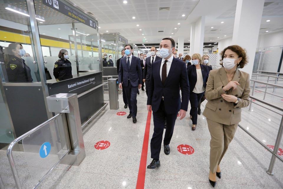 ირაკლი ღარიბაშვილი - დღეს გავხსენით ბათუმის განახლებული აეროპორტი, აჭარა მზად არის ტურისტების მისაღებად