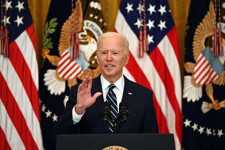 ჯო ბაიდენი - 92-ე დღეა, პრეზიდენტი ვარ და აშშ-ის 200 მილიონი მოქალაქე ავცერით