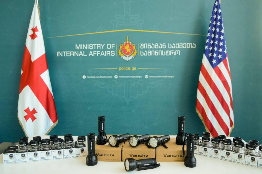 US Embassy hands over modern inspection equipment to Patrol Police