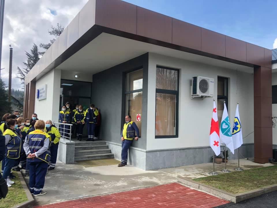 ოზურგეთში საგანგებო სიტუაციების კოორდინაციისა და გადაუდებელი დახმარების ცენტრის ახალი შენობა გაიხსნა