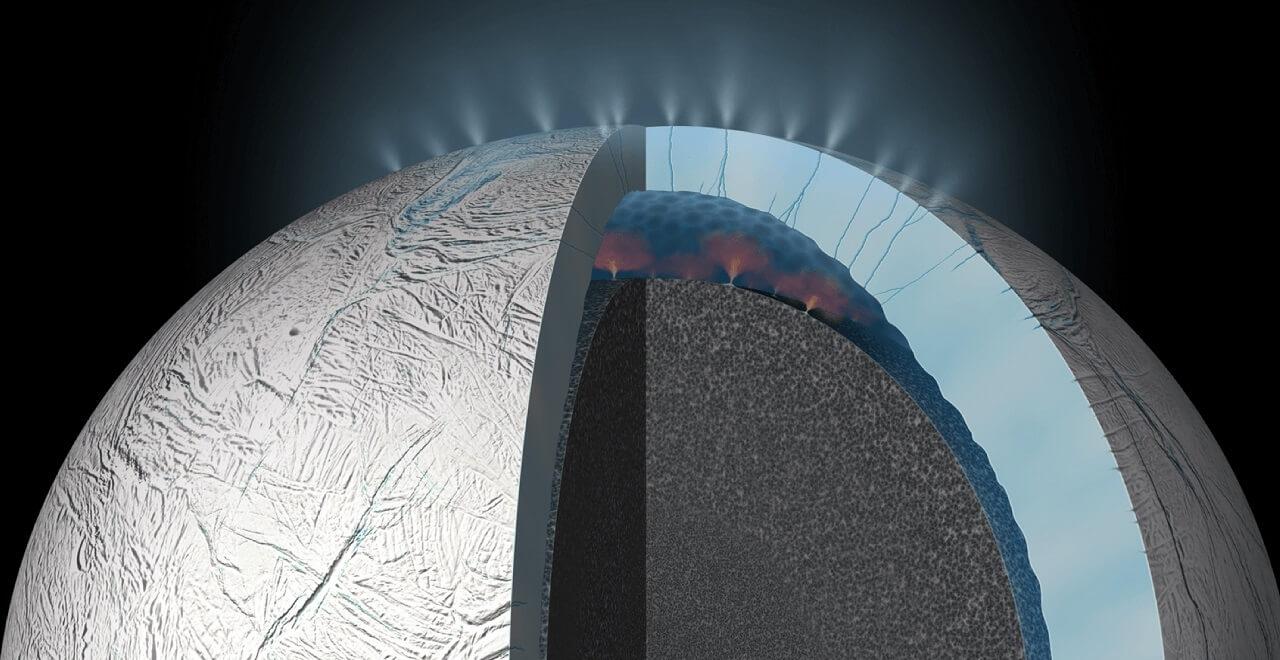 სატურნის მთვარე ენცელადს სავარაუდოდ დედამიწის მსგავსი ოკეანური დინებები აქვს — #1tvმეცნიერება