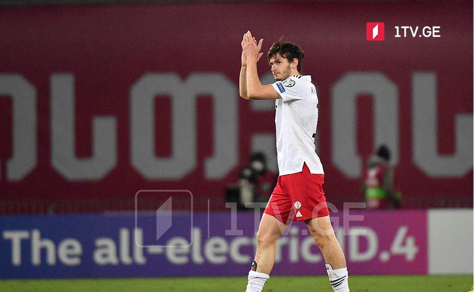 """კვარაცხელია ესპანეთთან მატჩის საუკეთესო მოთამაშეა -""""მარკას""""ვარაუდით, """"რუბინს""""მის გამო მალე მიმართავენ #1TVSPORT"""