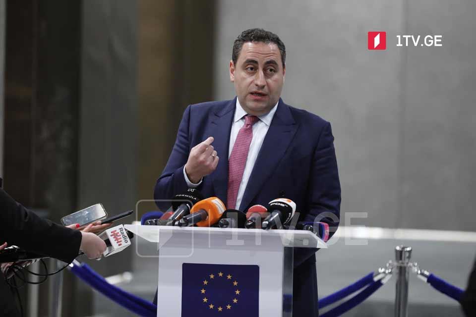 Strategy Aghmashenebeli: President to play destructive role