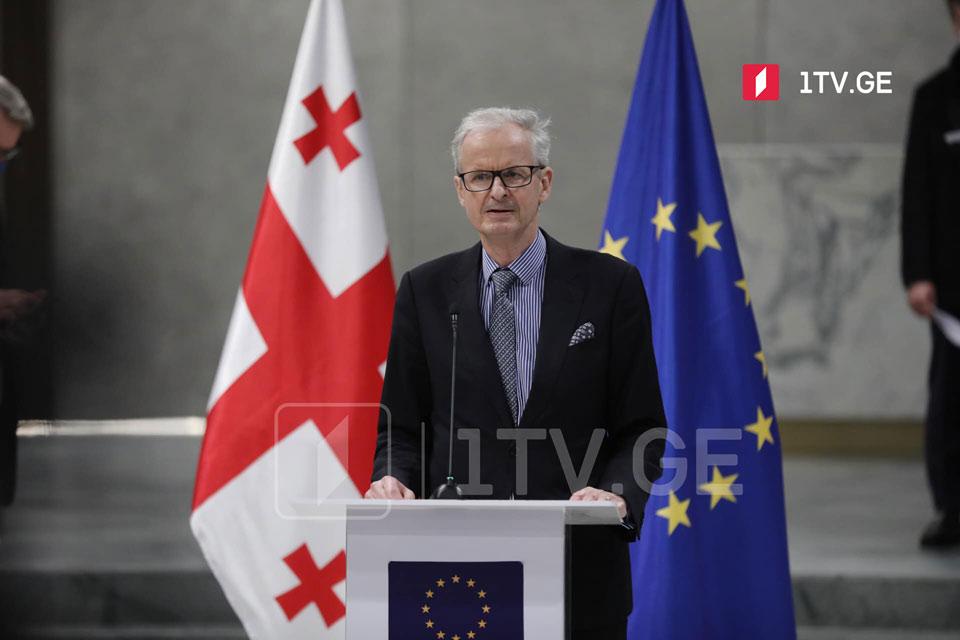 Кристиан Дэниэльсон - Если соглашение состоится, здесь будут только победители, в первую очередь, это будет грузинский народ