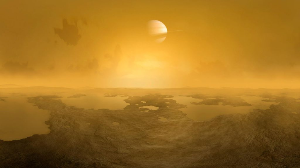 სატურნის მთვარე ტიტანის უდიდესი კრატერი შეიძლება ბრწყინვალე ადგილი იყოს სიცოცხლის საძებნელად — #1tvმეცნიერება
