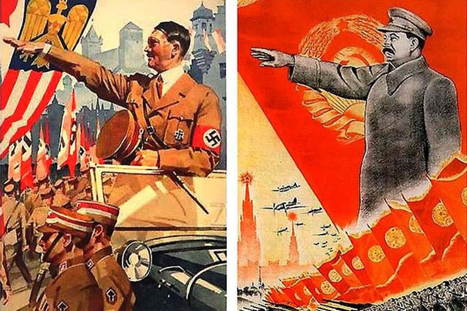 რადიო ექსპრესი - საბჭოთა პლაკატი მეორე მსოფლიო ომის პერიოდში და საქართველო