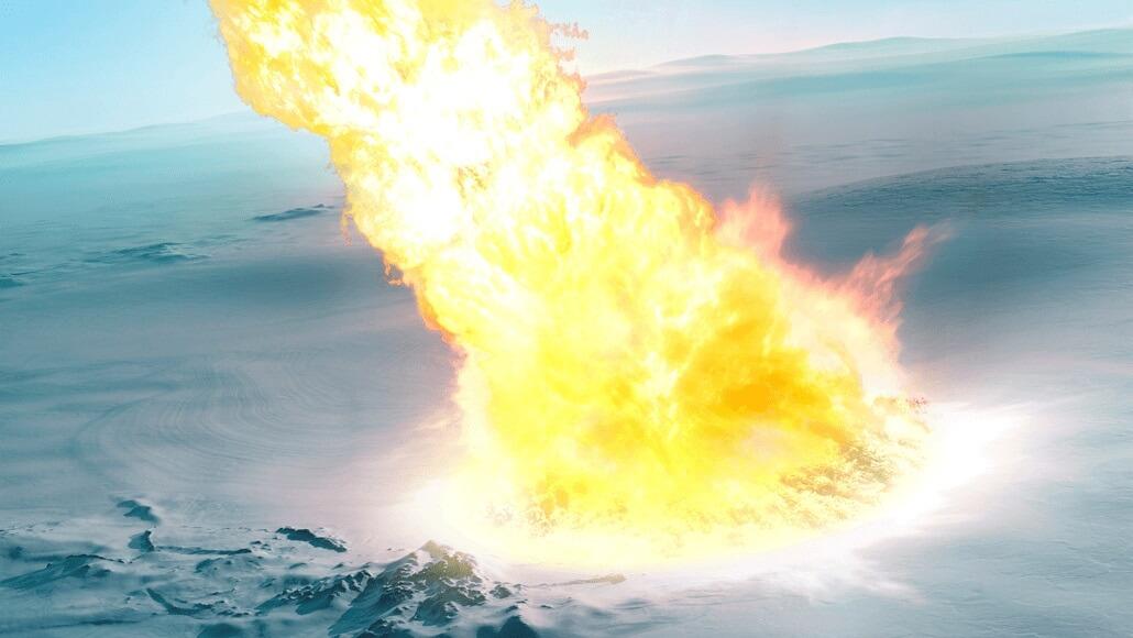 ანტარქტიდის ყინულებში 430 000 წლის წინ აფეთქებული მეტეორის ნაწილაკები აღმოაჩინეს — #1tvმეცნიერება