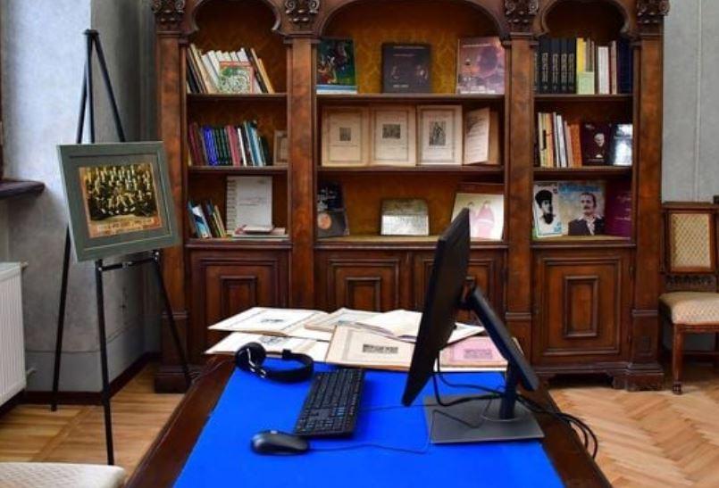 ეროვნული ბიბლიოთეკის ფოლკლორის დარბაზს ანზორ ერქომაიშვილის სახელი ეწოდა
