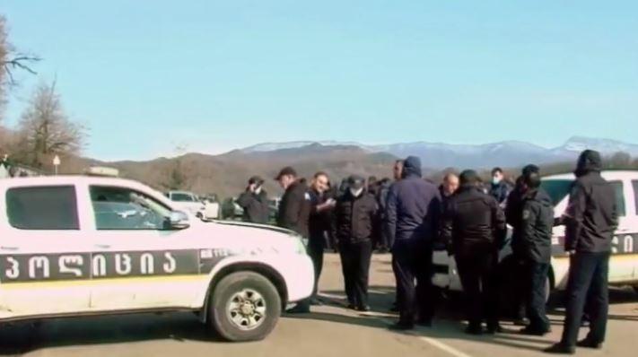Протесты в ущелье Риони продолжаются, на месте мобилизованы правоохранители