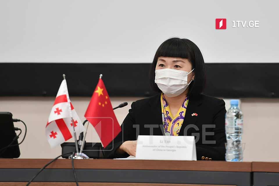 """ჩინეთის ელჩი - """"სინოფარმის"""" უსაფრთხოებისა და ეფექტურობის დონე ძალიან მაღალია, რაც საერთაშორისო საზოგადოების მიერაც ფართოდ არის აღიარებული"""