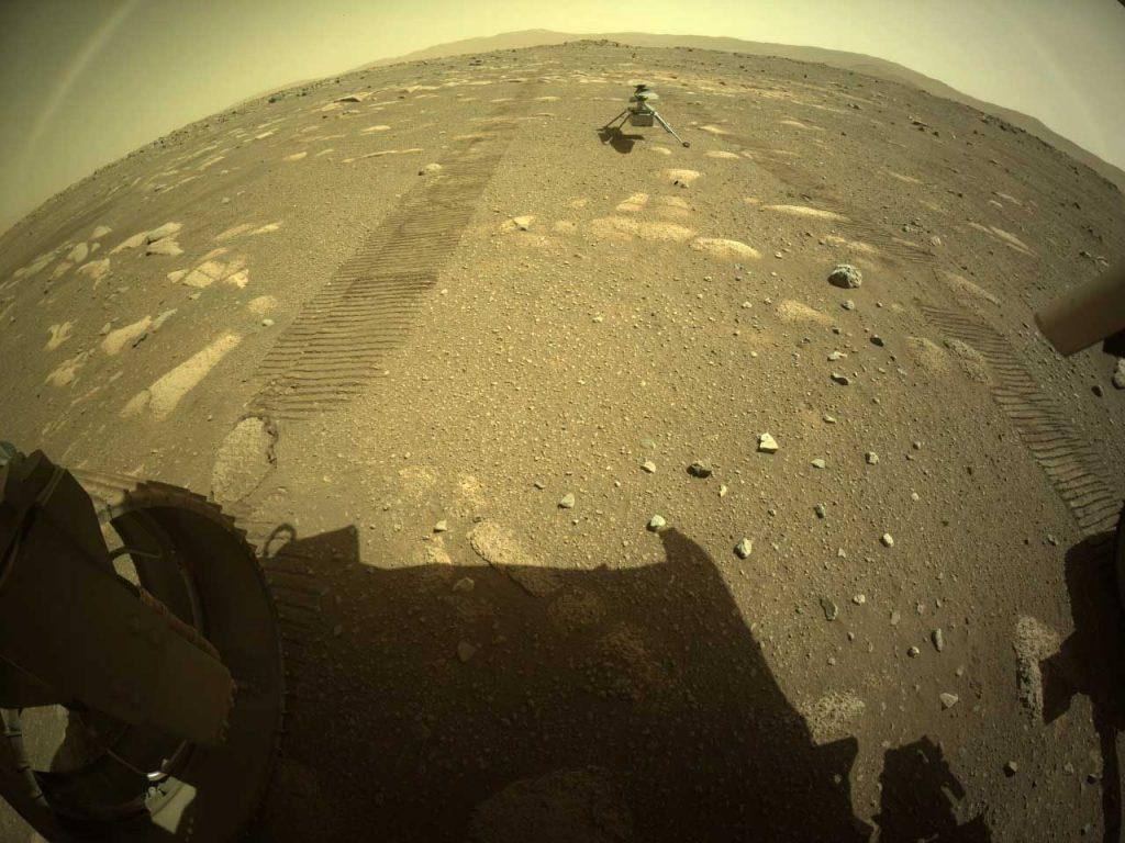"""""""პერსევერანსმა"""" NASA-ს ვერტმფრენი მარსის ზედაპირზე გადმოსვა — #1tvმეცნიერება"""