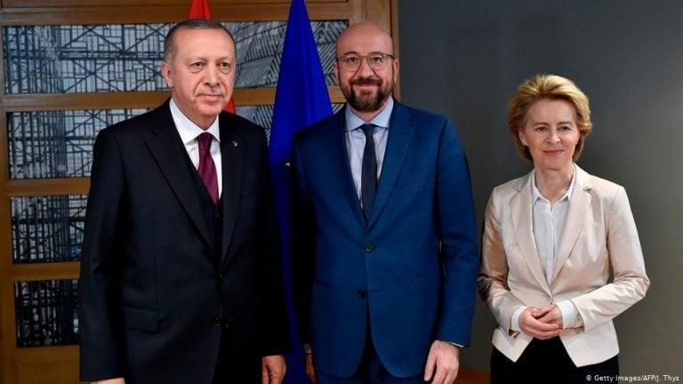 ევროკომისიისა და ევროკავშირის საბჭოს პრეზიდენტები თურქეთში ვიზიტისას ურთიერთობების განახლებას შეეცდებიან