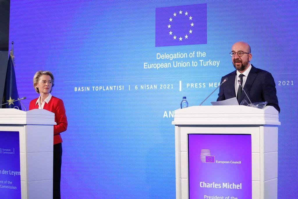შარლ მიშელი - ევროკავშირი მზად არის, წარადგინოს თურქეთთან თანამშრომლობის კონკრეტული და პოზიტიური დღის წესრიგი