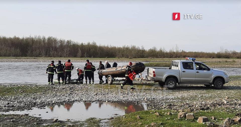 სოფელ ორსანტიაში, მდინარე ენგურში მაშველებმა მამაკაცის ცხედარი იპოვეს