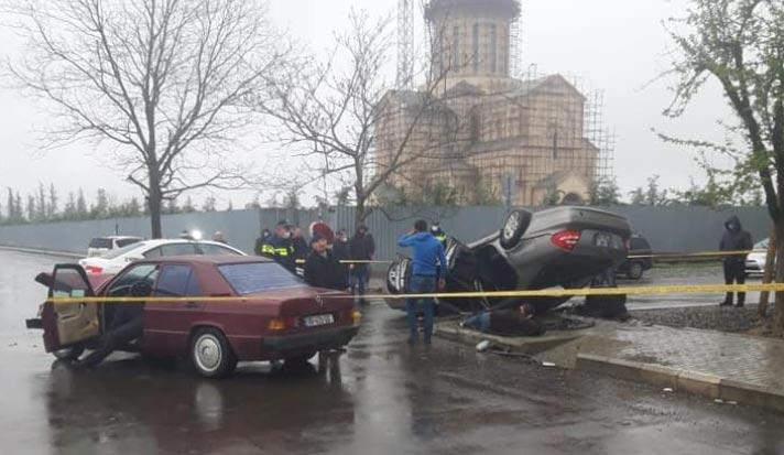 ზუგდიდში ავტოსაგზაო შემთხვევის შედეგად ოთხი ადამიანი დაშავდა