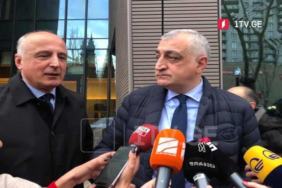 Lelo for Georgia party leaders meet EU, US Ambassadors