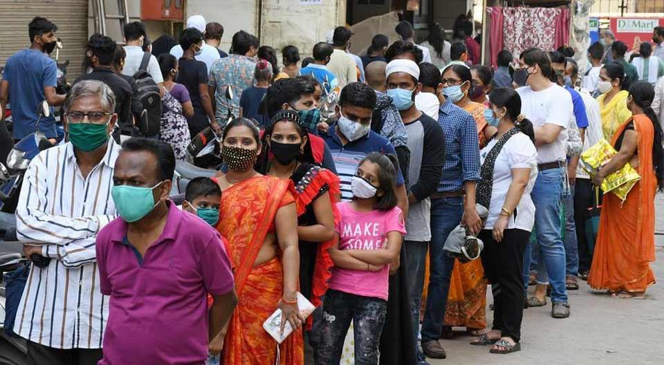 ინდოეთში კორონავირუსის 168 912 ახალი შემთხვევა გამოვლინდა