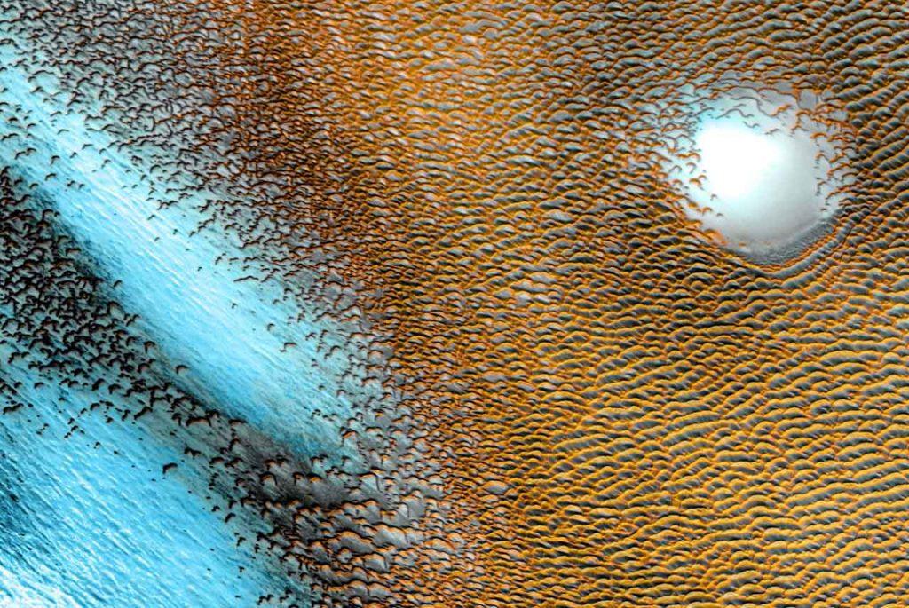 """""""დიუნების ზღვა"""" მარსზე — NASA ახალ ფოტოს აქვეყნებს #1tvმეცნიერება"""