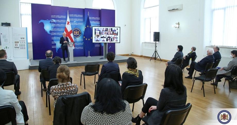 დიასპორისა და კავკასიის საკითხთა კომიტეტის წევრებმა დედა ენის დღესთან დაკავშირებული პროექტის დასკვნით ღონისძიებაში მიიღეს მონაწილეობა