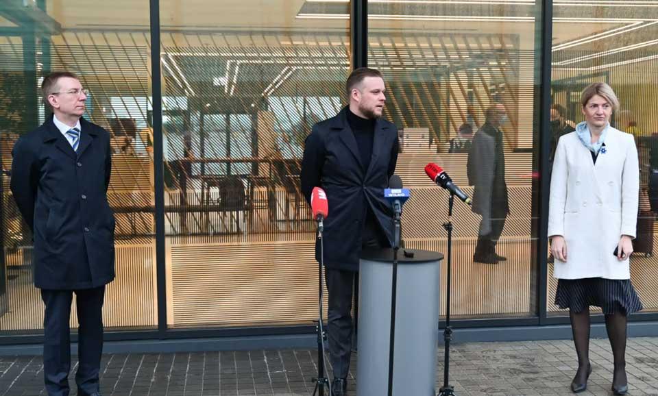 Министры иностранных дел Эстонии, Латвии и Литвы прибыли в Украину