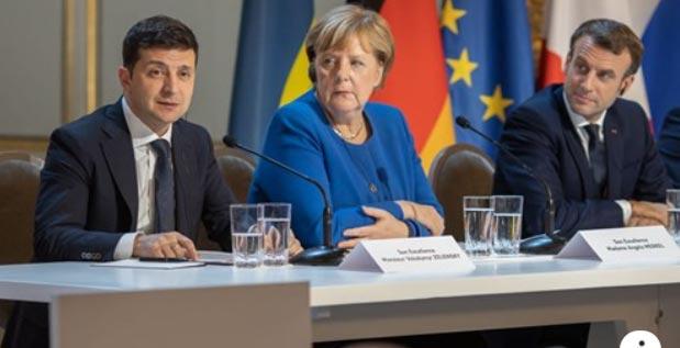 გერმანიის კანცლერი საფრანგეთისა და უკრაინის პრეზიდენტების შეხვედრას ვიდეოფორმატით შეუერთდება