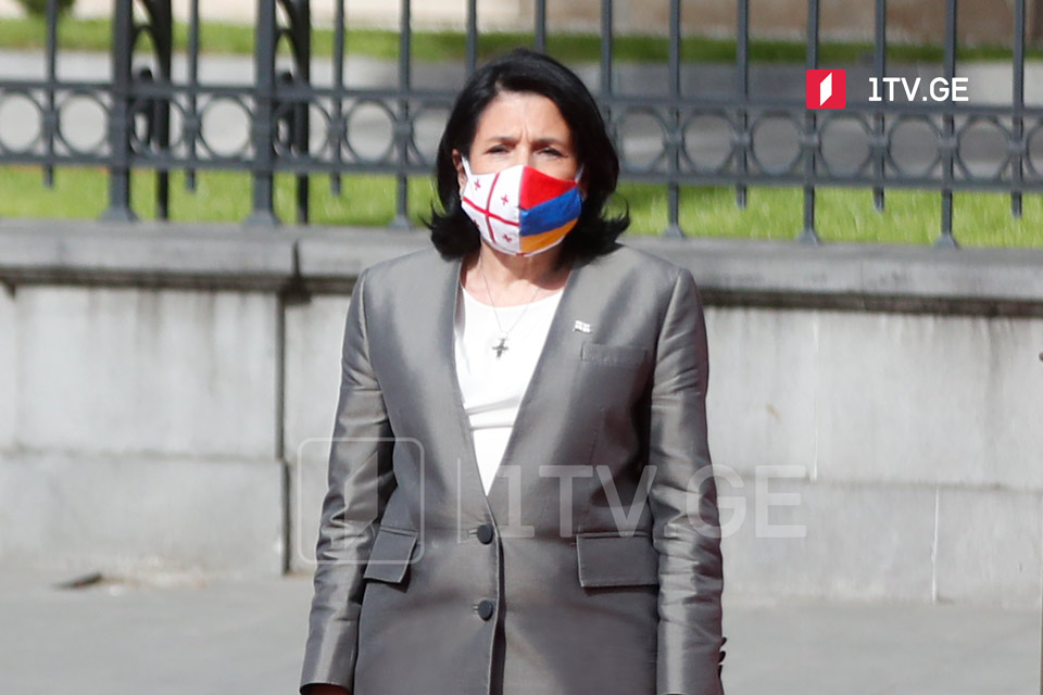 Саломе Зурабишвили - Грузия стояла и стоит на стороне мира