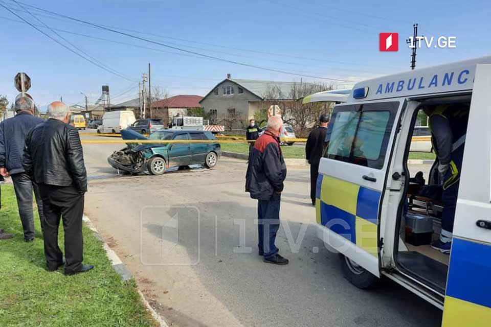 სოფელ ვარდისუბანთან ავტოსაგზაო შემთხვევის შედეგად სამი ადამიანი დაშავდა