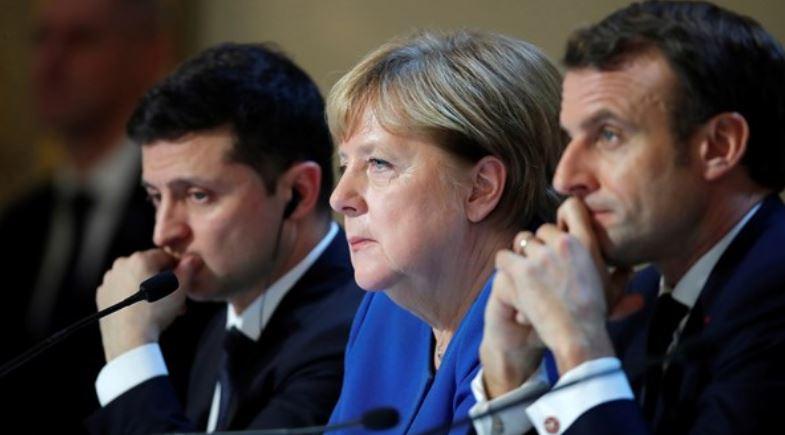 გერმანიის მთავრობა ანგელა მერკელის, ემანუელ მაკრონისა და ვლადიმირ ზელენსკის ვიდეოკონფერენციის შესახებ განცხადებას ავრცელებს