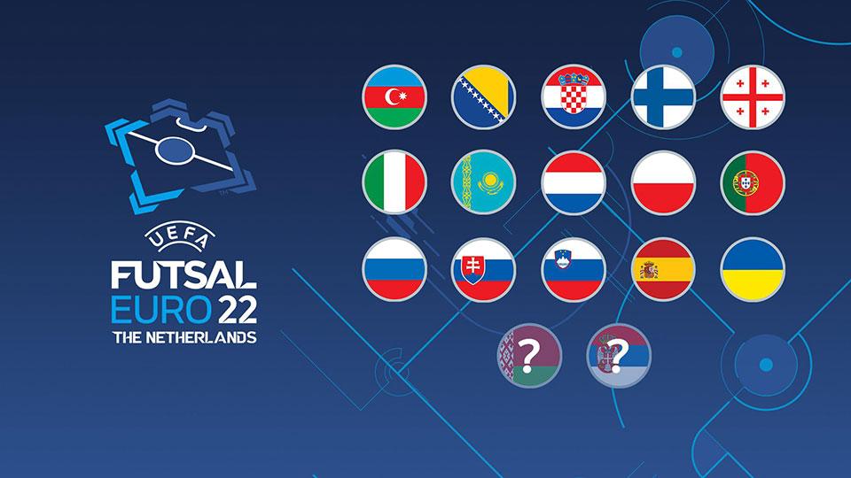 ფუტსალი | ევრო 2022 - ფინალური ეტაპის 16-დან 15 მონაწილე გარკვეულია #1TVSPORT