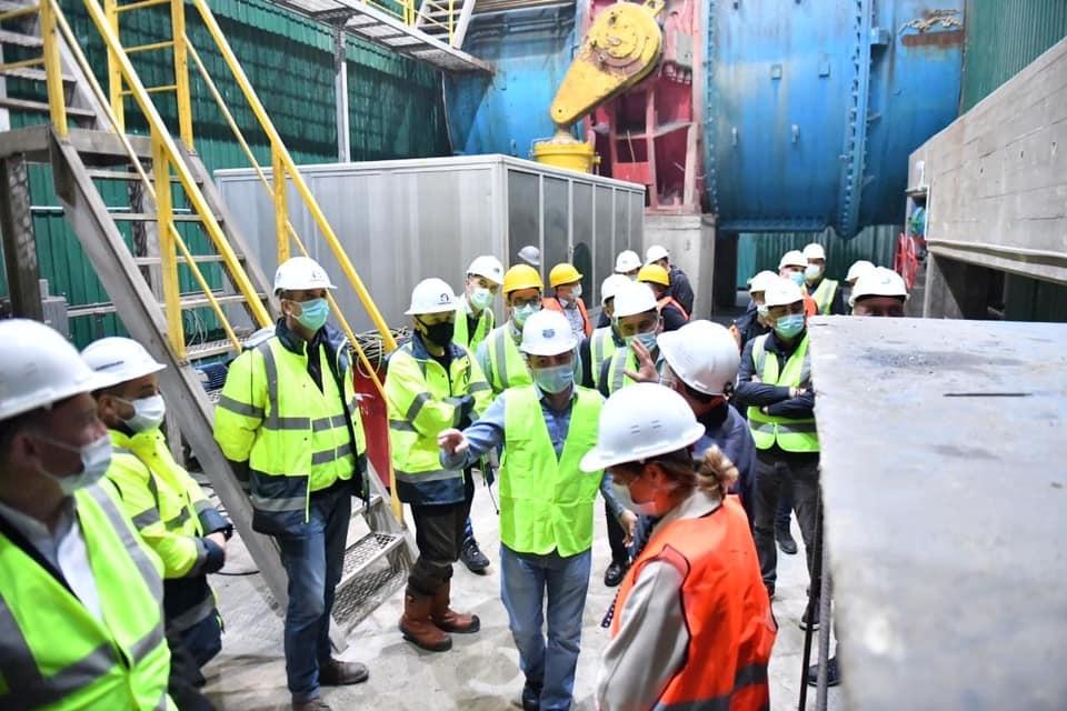 Замминистра экономики Грузии ознакомился с реабилитационными работами на Ингури ГЭС
