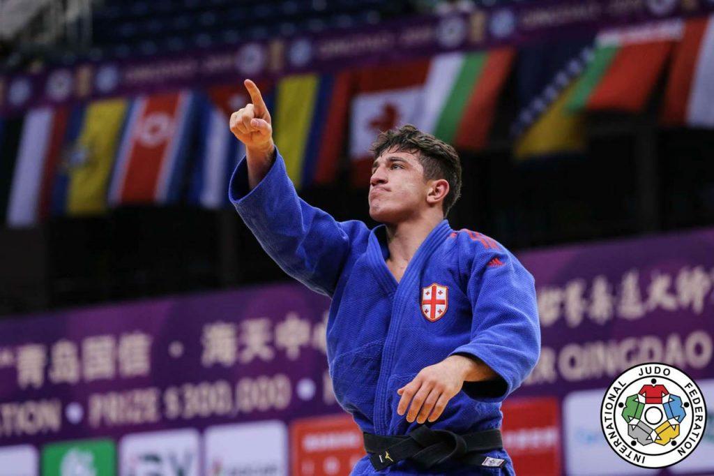 Лаша Бекаури - Чемпион Европы по дзюдо