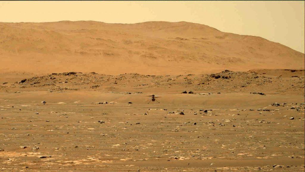 ისტორიული მომენტი — NASA-ს ვერტმფრენი მარსის ცაში აფრინდა #1tvმეცნიერება