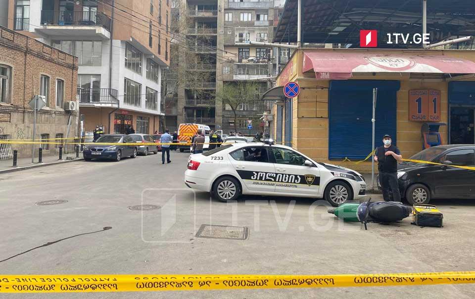 თბილისში, ნასიძის ქუჩაზე სროლა იყო