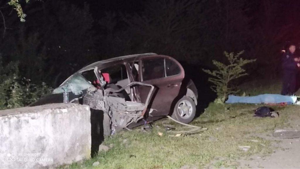 ლაგოდეხში ავტოსაგზაო შემთხვევის შედეგად ორი ადამიანი დაიღუპა