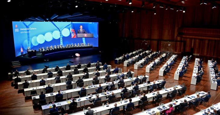 უეფა-ს კონგრესზე სუპერლიგის იდეა დაგმეს -ორგანზიაციას მხარდაჭერას საერთაშორისო ოლიმპიური კომიტეტიც უცხადებს #1TVSPORT