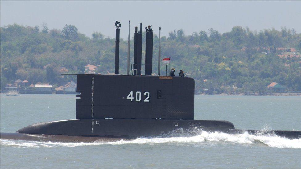 ინდონეზიის სამხედრო წყალქვეშა ნავი, რომლის ბორტზეც 53 ადამიანი იმყოფებოდა, გაუჩინარდა