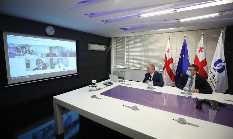 ფინანსთა მინისტრი ლაშა ხუციშვილი EBRD-ის მმართველ დირექტორს შეხვდა