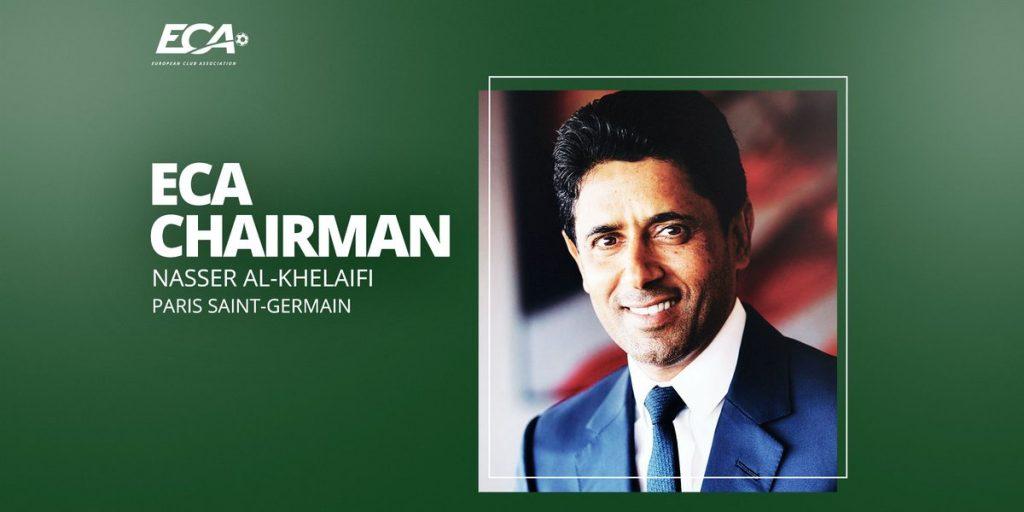 """""""პარი სენ-ჟერმენის"""" პრეზიდენტი ევროპული კლუბების ასოციაციის ხელმძღვანელად დაინიშნა #1TVSPORT"""