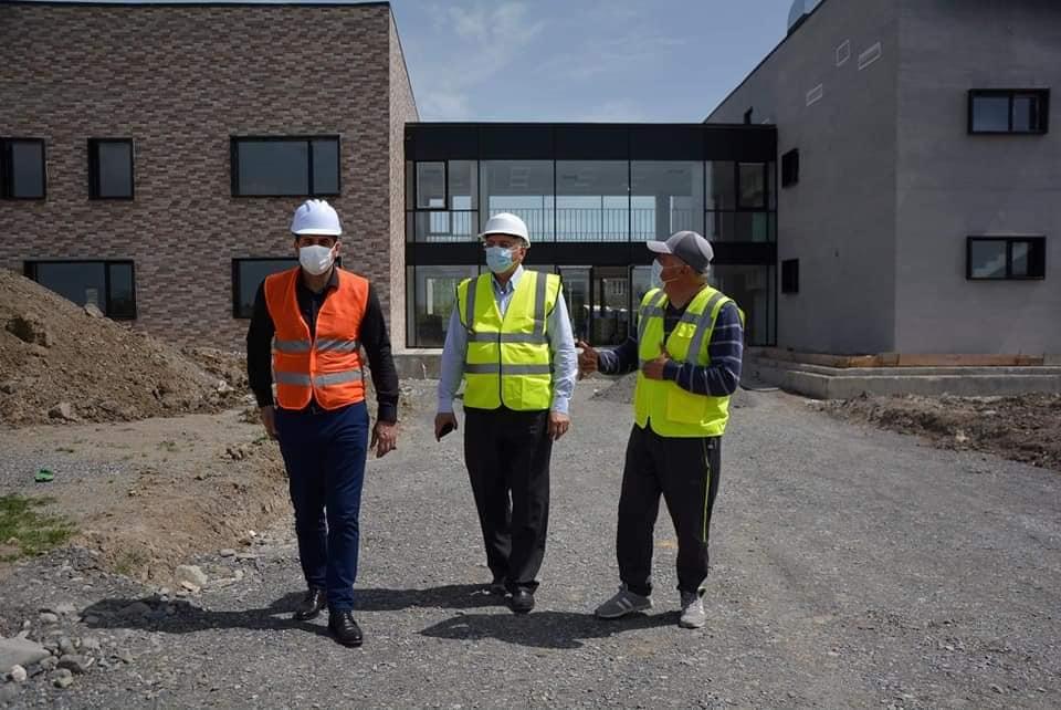 ლაგოდეხის მუნიციპალიტეტში ოთხი ახალი საბავშვო ბაღის და ორი საჯარო სკოლის მშენებლობა მიმდინარეობს