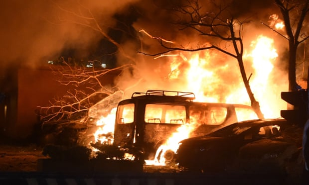 პაკისტანში, სასტუმროსთან აფეთქების შედეგად დაღუპულთა რიცხვი გაიზარდა