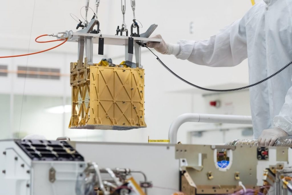 NASA-ს მავალმა მარსზე ნახშირორჟანგი ჟანგბადად გარდაქმნა — #1tvმეცნიერება