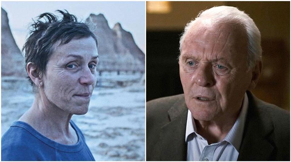 """ქალის როლის საუკეთესო შესრულებისთვის """"ოსკარი"""" ფრენსის მაკდორმანდმა მიიღო, საუკეთესო მამაკაც მსახიობად კი ენტონი ჰოპკინსი დასახელდა"""
