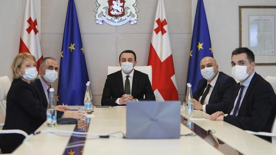 პრემიერ-მინისტრმა და EIB-ის ვიცე-პრეზიდენტმა საქართველოს განვითარების ათწლიან გეგმასა და ქვეყნის მასშტაბური განახლების პროგრამაზე ისაუბრეს