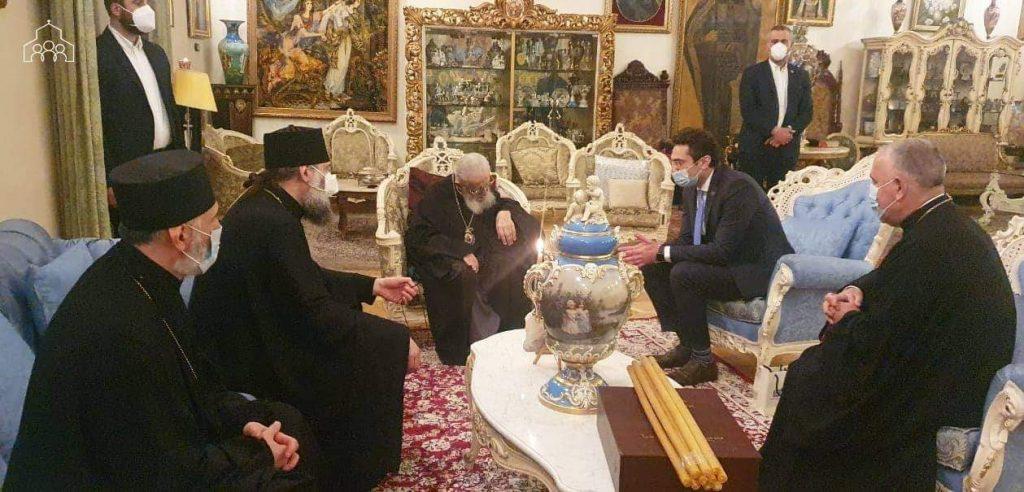 Католикос-Патриарх Илия II встретился с Кахой Кучава