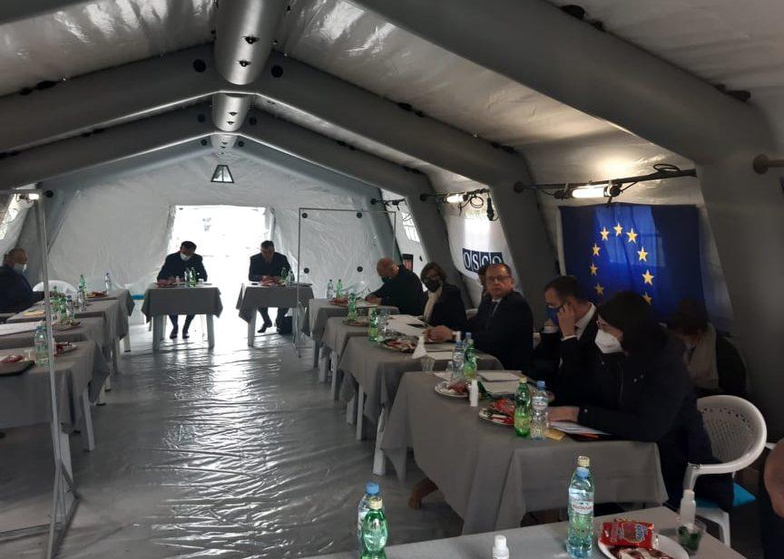 ევროკავშირის სადამკვირვებლო მისია ერგნეთში გამართული შეხვედრის შესახებ ოფიციალურ ინფორმაციას ავრცელებს
