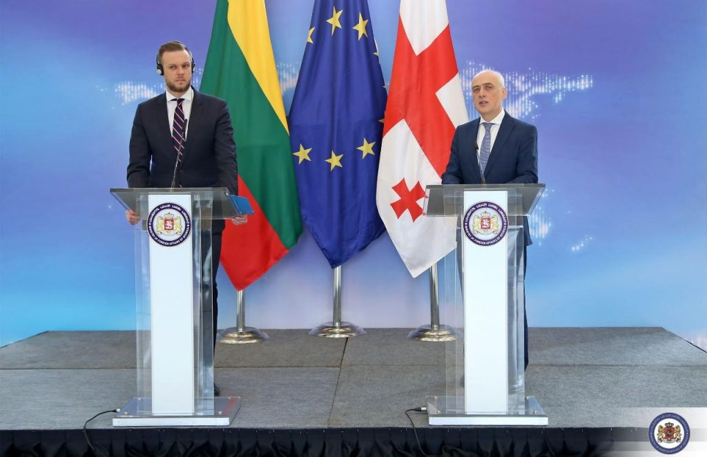 Lithuanian FM: Lithuania is a true friend of Georgian people and true supporter of Georgia's Trans-Atlantic aspirations