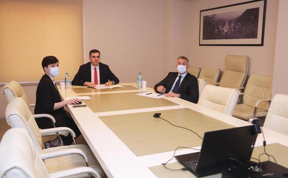 გაერო-ს გუნდმა საქართველოში მთავრობას 2020 წლის საქმიანობის ანგარიში წარუდგინა